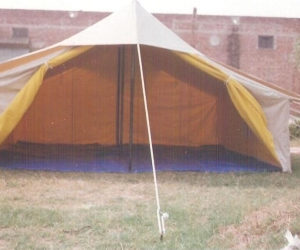 Specifications & Double Fly Double Fold Family Ridge Tent - Mahroz Textile Industries