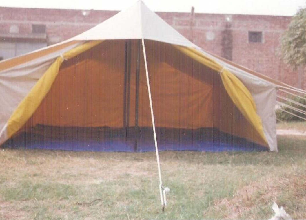 Double Fly Double Fold Family Ridge Tent