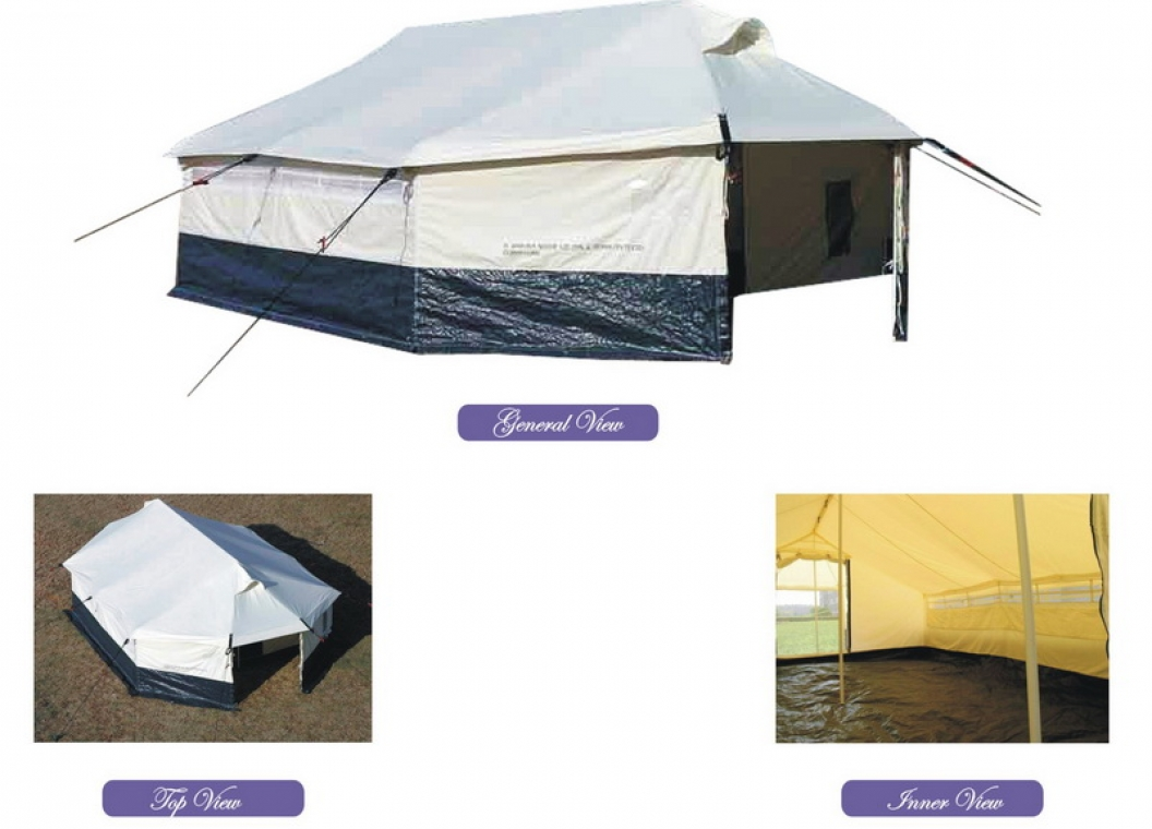 IFRC/PAKISTAN RED CRESCENT Type New Version All Weather Family Tent