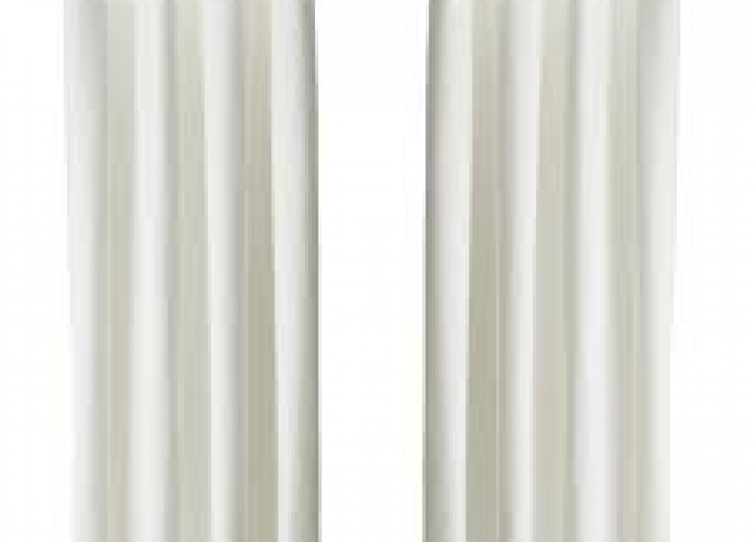 Bleached curtains