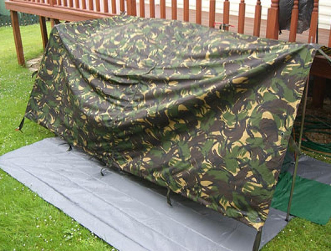 Camouflage Ground Sheet